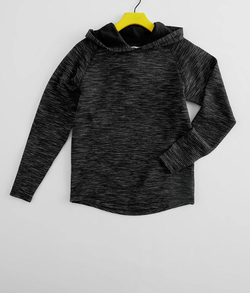 Boys - BKE Textured Knit Hoodie front view