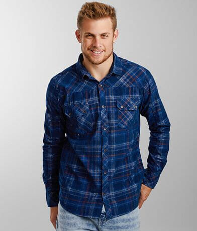 Outpost Makers Plaid Corduroy Shirt
