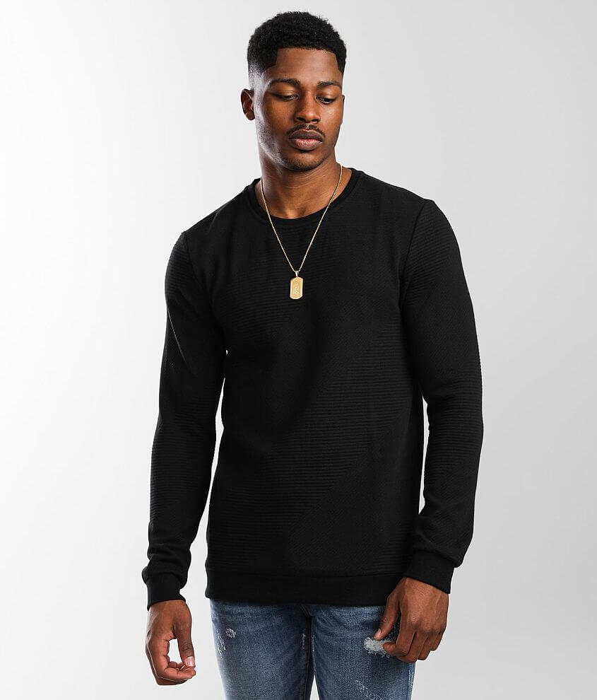 Nova Industries Quilted Pullover front view