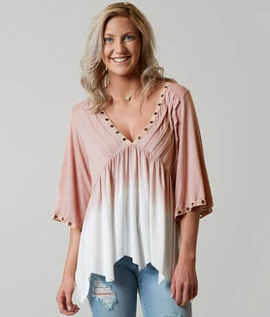 POL Pleated Top