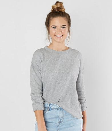 FITZ + EDDI Raw Edge Sweatshirt
