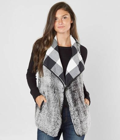 BKE Sherpa Reversible Vest