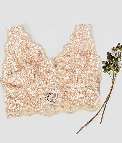 Daytrip Full Coverage Eyelash Lace Bralette