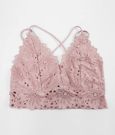 Daytrip Floral Lace Bralette