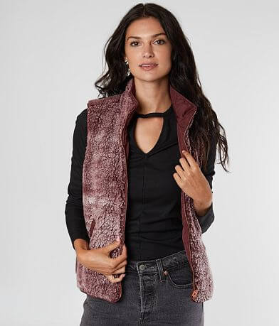 Daytrip Reversible Sherpa Puffer Vest