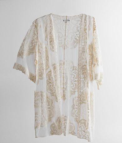 Poof Lace Kimono
