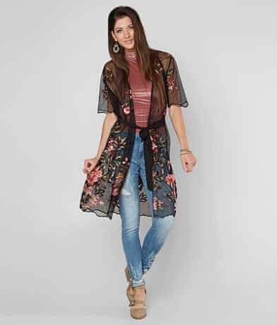 Poof Embroidered Cardigan