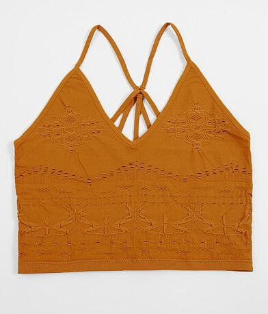 Daytrip Textured Strappy Full Coverage Bralette