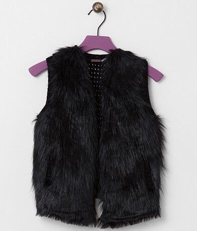 Girls - Poof Girl Faux Fur Vest