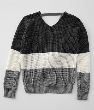 Girls - Daytrip Colorblock Sweater
