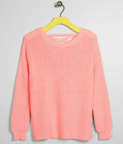 Girls - Daytrip Strappy Sweater