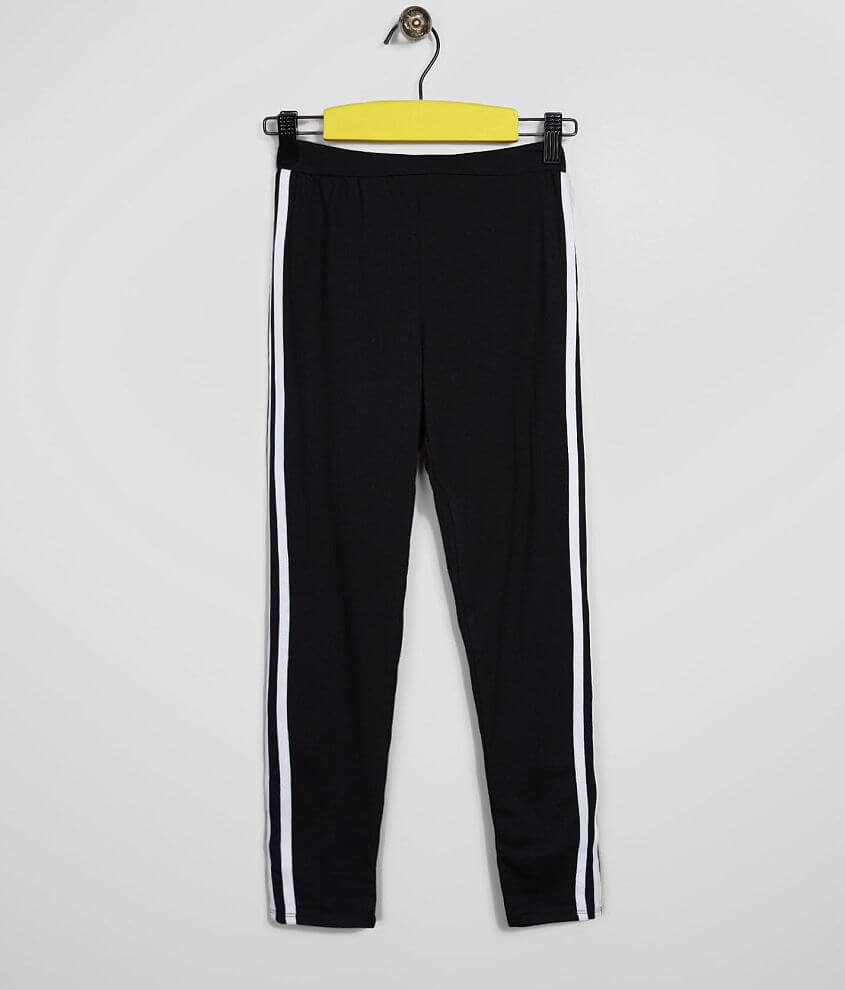 Girls - Daytrip Athletic Striped Legging front view