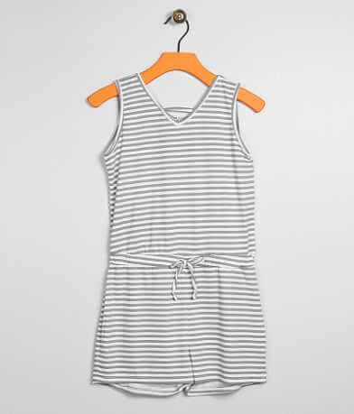 Girls - Daytrip Striped Romper