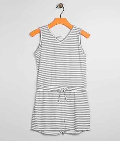 Girls - Daytrip Striped Romper