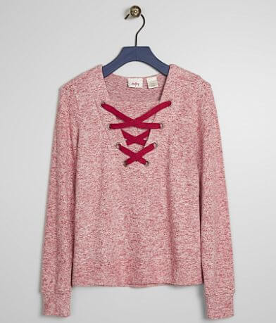 Girls - Daytrip Brushed Fleece Top