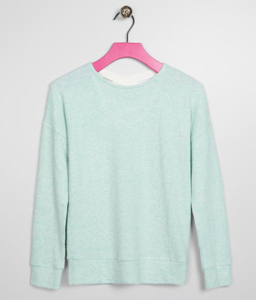 Girls - Daytrip Brushed Knit Top front view