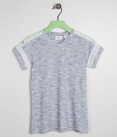 Girls - Daytrip Marled V-Neck Top