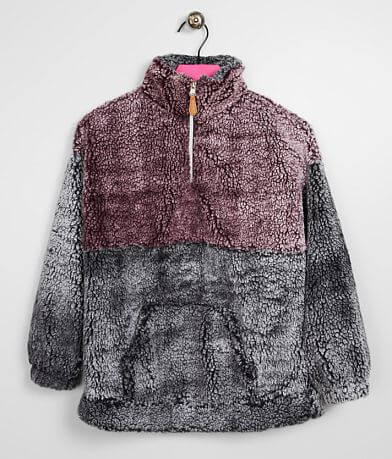 Girls - Daytrip Color Block Wubby Pullover
