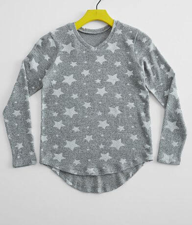 Girls - Daytrip Star V-Neck Pullover