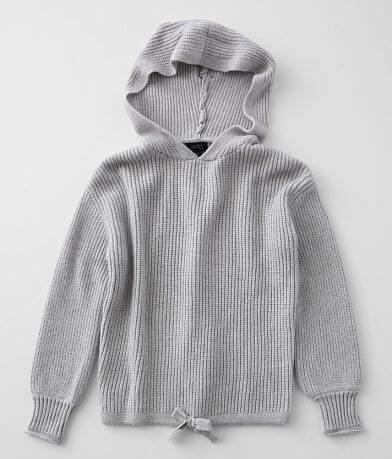 Girls - Daytrip Brushed Knit Hooded Sweater