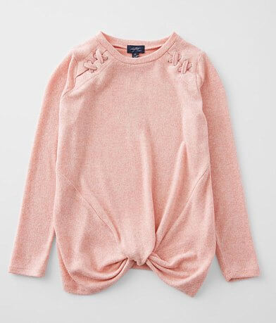 Girls - Daytrip Twisted Front Knot Top