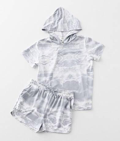 Girls - BKE Brushed Marble Knit 2 Piece Set