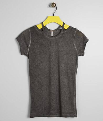 Girls - Poof Washed Top
