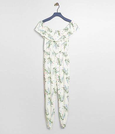 Girls - Daytrip Floral Jumpsuit