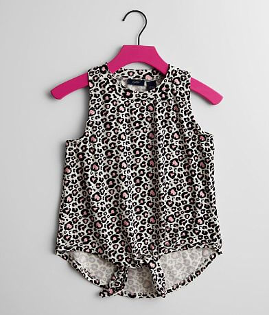 Girls - Daytrip Cheetah Print Tank Top