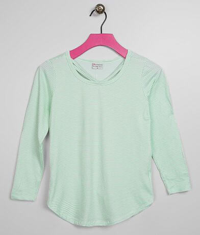 Girls - Poof Striped Top