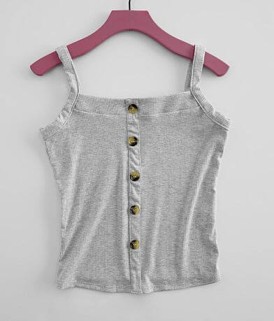 Girls - Daytrip Ribbed Knit Tank Top