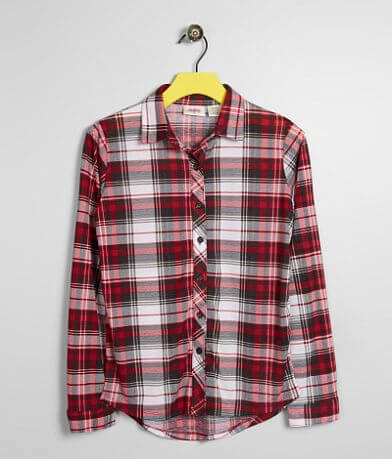 Girls - Daytrip Plaid Shirt -Special Pricing