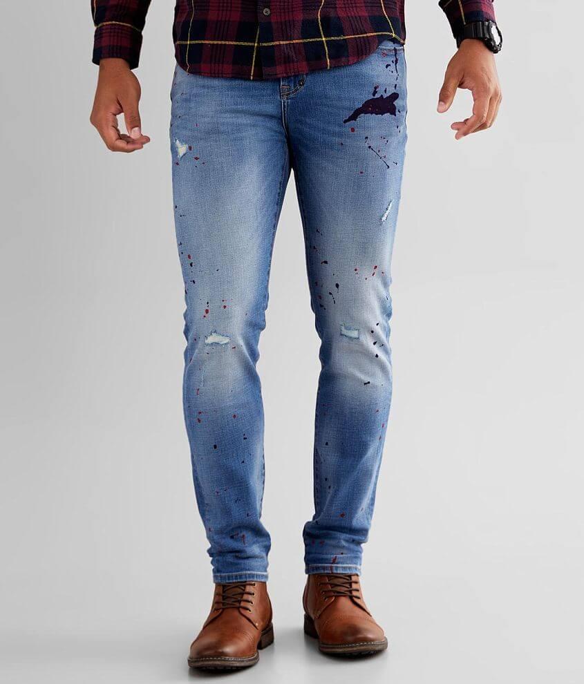 Prps Indigo Slim Taper Stretch Jean front view