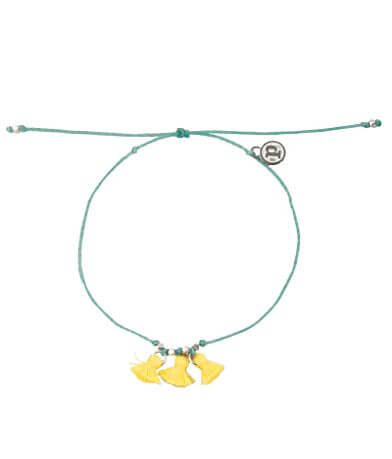 Pura Vida Tripple Tassle Ankle Bracelet