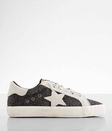 Vintage Havana Fear Glitter Star Leather Shoe