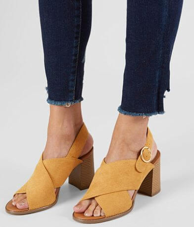 Now or Never Faux Suede Heeled Sandal