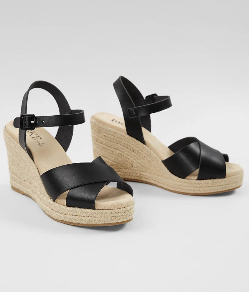 BKE sole Curious Wedge Sandal front view