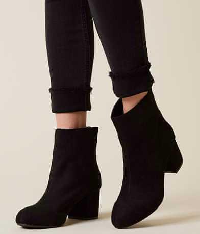 Solely Black by BKE Cybil Ankle Boot