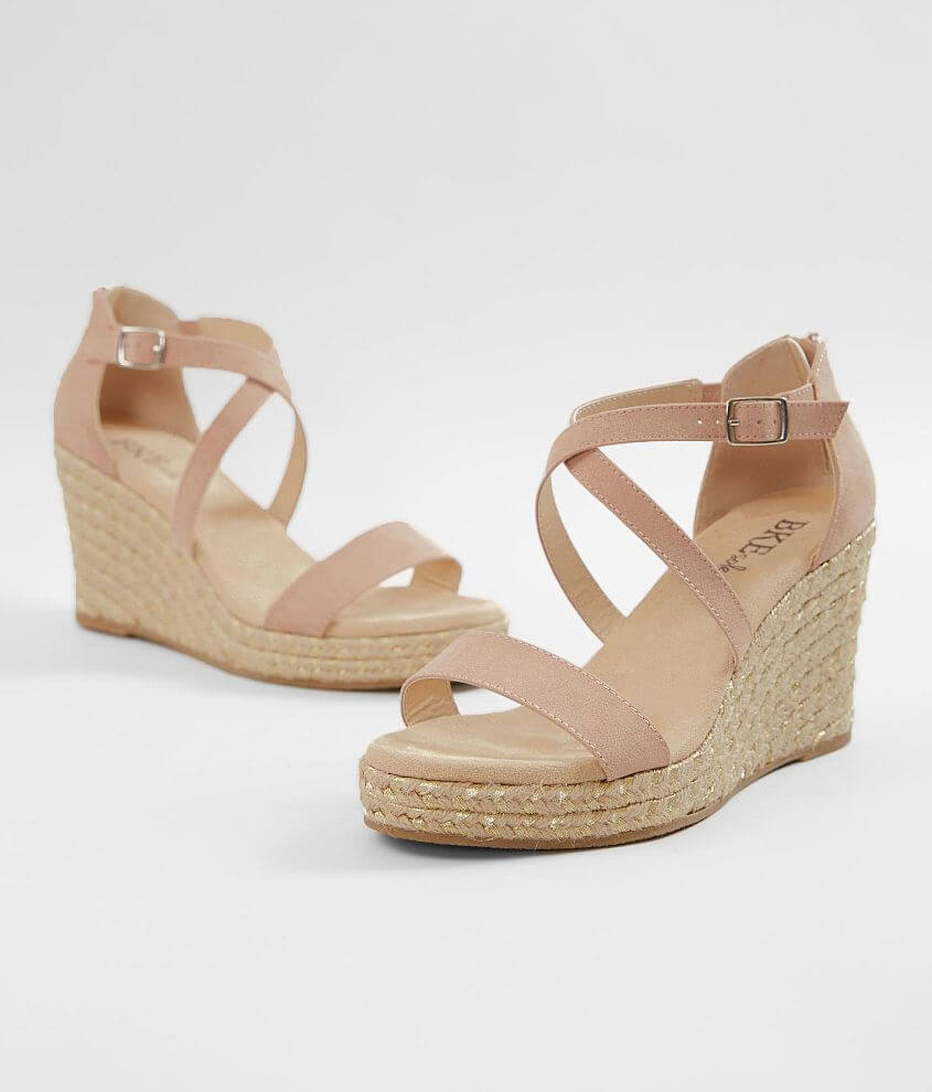 BKE sole Davinia Wedge Sandal front view