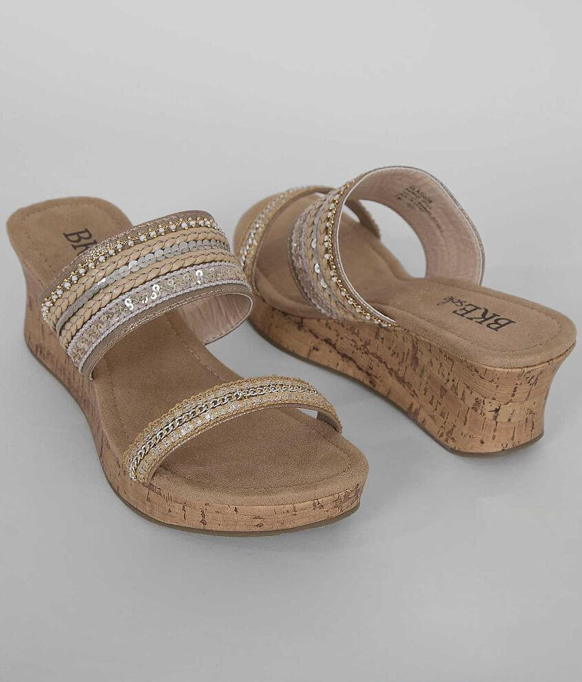 BKE sole Glasgow Wedge Sandal front view
