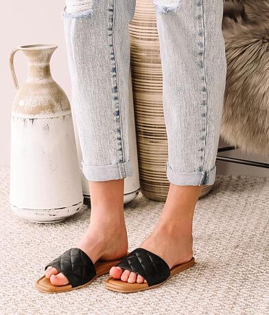 Now or Never Kris Quilted Sandal