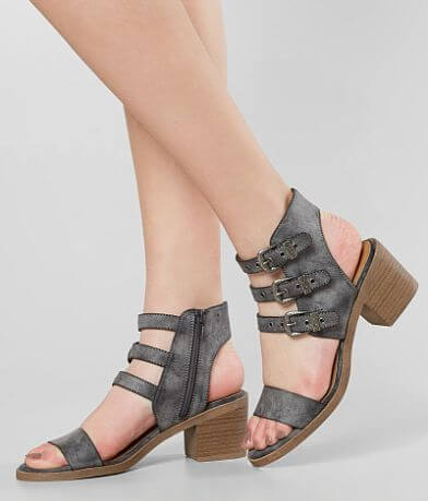 Solely Black by BKE Pixie Heeled Sandal