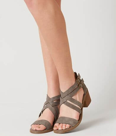 Solely Black by BKE Rocha Heeled Sandal