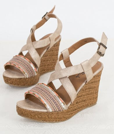 BKE sole Safari Wedge Sandal