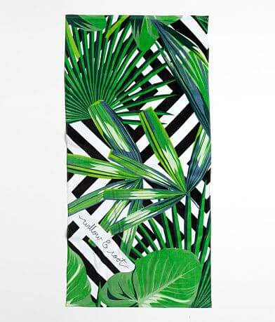 Willow & Root Brand Event Beach Towel