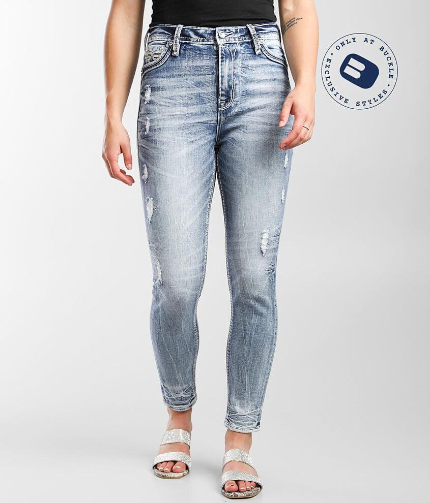 Rock Revival Cocoon Ankle Skinny Stretch Jean front view