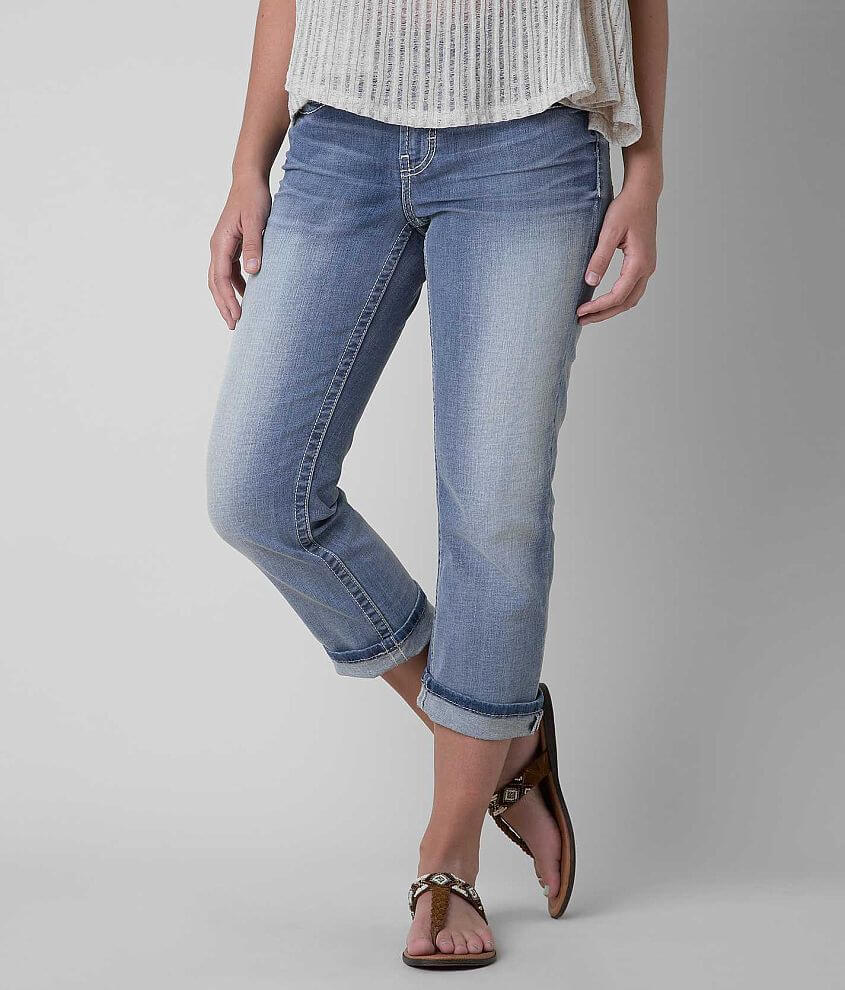 BKE Dakota Stretch Cropped Jean front view