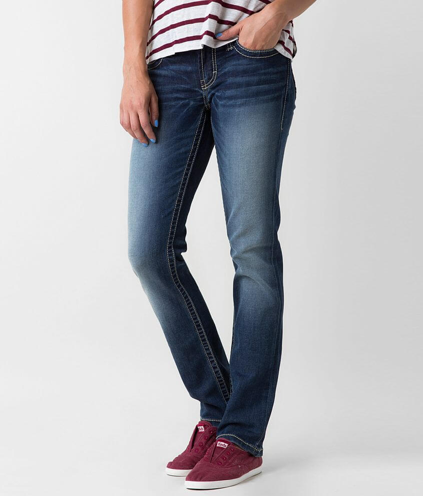 BKE Sabrina Straight Stretch Jean front view