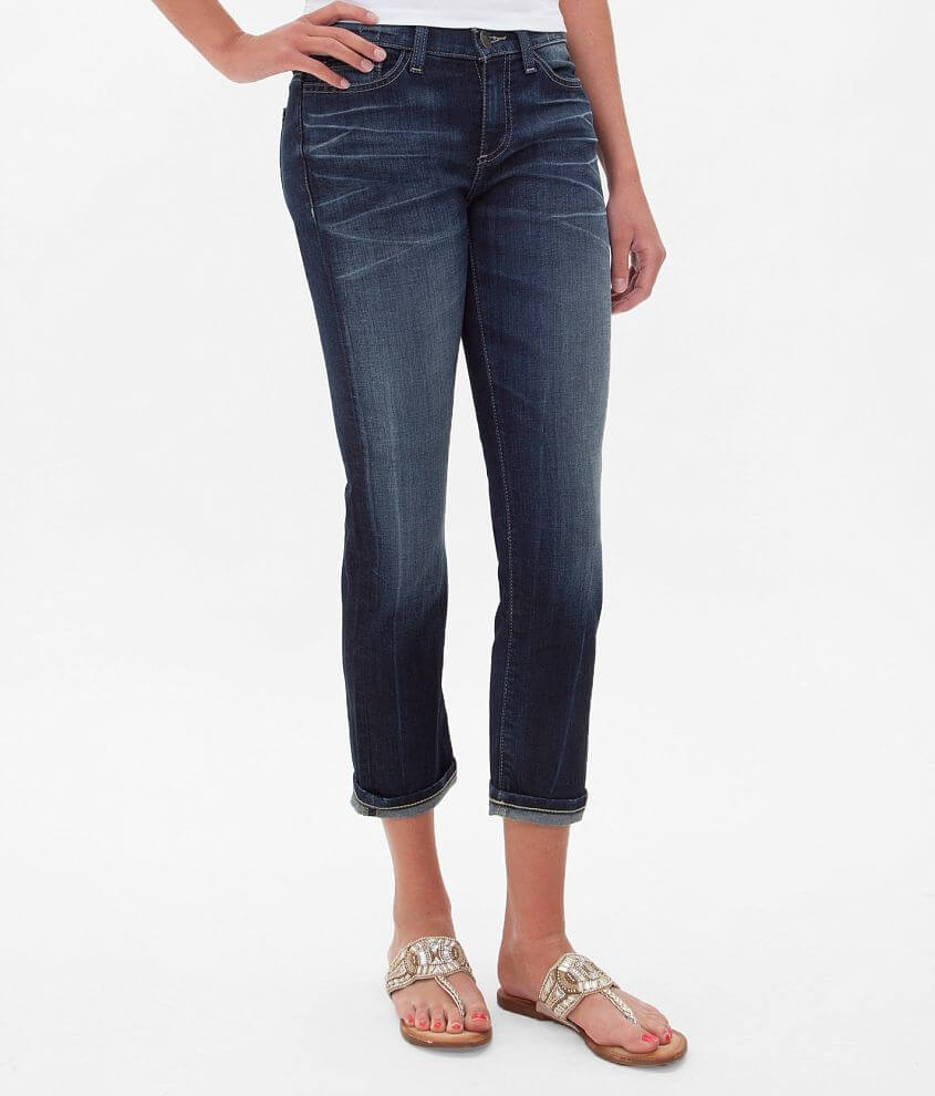 BKE Reserve Addison Skinny Stretch Cropped Jean front view
