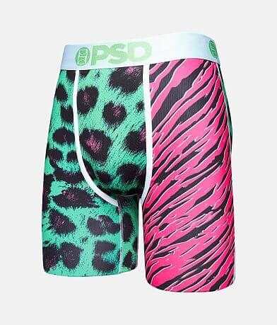 PSD Neon Cats Stretch Boxer Briefs